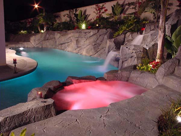 Custom Pool Designs Southern California Waterfalls