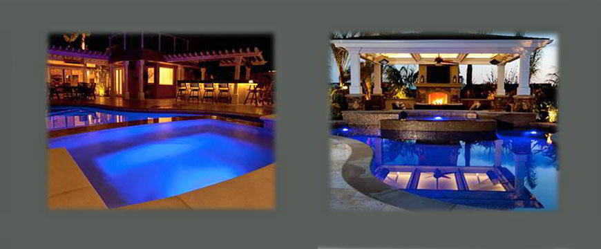 The pool and spa feature Pentair L.E.D. multi-colored lights, enhancing the nighttime feel. A solid tile roof gazebo completes the experience and features outdoor heating with a full stone fireplace. The pool and spa have an Eco-pool In-floor Circulatory System, a Clear 03® Ozone System by Paramount, Eco SelectVariable Speed Pumps. filter, heater and automation system by Pentair.