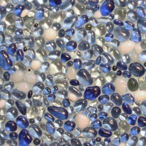 Water Blue Contour
